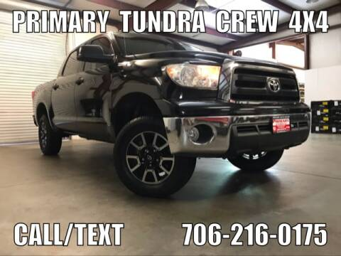 2012 Toyota Tundra for sale at Primary Auto Group Jeeps Hummers Tacomas in Dawsonville GA
