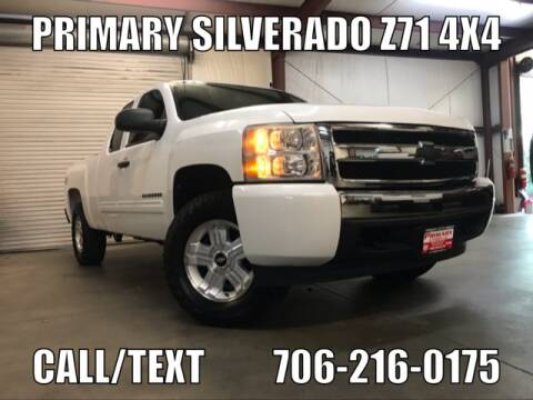 2010 Chevrolet Silverado 1500 for sale at Primary Auto Group Jeeps Hummers Tacomas in Dawsonville GA
