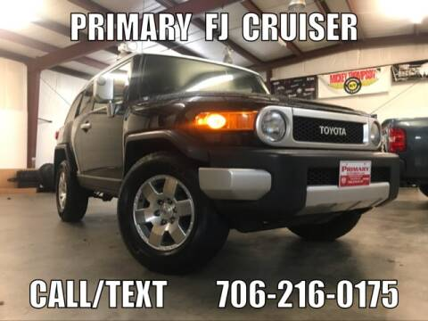2007 Toyota FJ Cruiser for sale at Primary Auto Group Jeeps Hummers Tacomas in Dawsonville GA