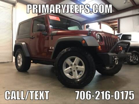 2007 Jeep Wrangler for sale at Primary Auto Group Jeeps Hummers Tacomas in Dawsonville GA