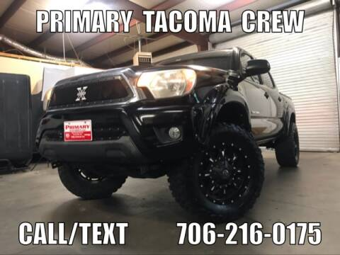 2012 Toyota Tacoma for sale at Primary Auto Group Jeeps Hummers Tacomas in Dawsonville GA