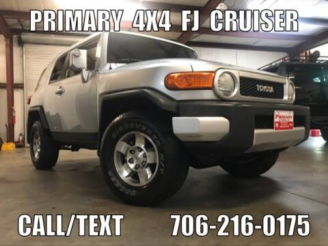 2008 Toyota FJ Cruiser for sale at Primary Auto Group Jeeps Hummers Tacomas in Dawsonville GA