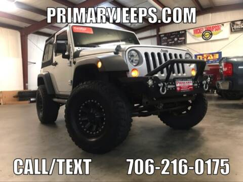 2010 Jeep Wrangler for sale at Primary Auto Group Jeeps Hummers Tacomas in Dawsonville GA