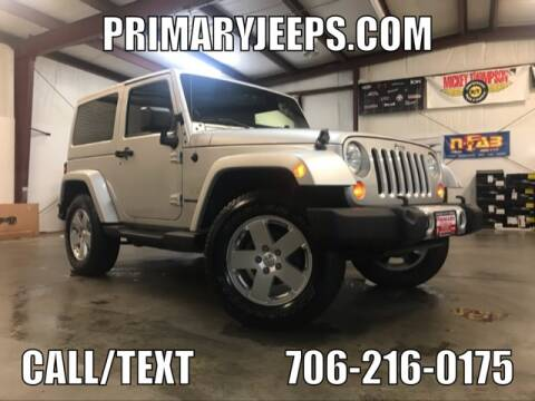 2011 Jeep Wrangler for sale at Primary Auto Group Jeeps Hummers Tacomas in Dawsonville GA