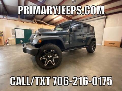 2008 Jeep Wrangler Unlimited for sale at Primary Auto Group Jeeps Hummers Tacomas in Dawsonville GA