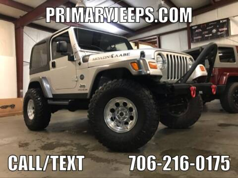 2004 Jeep Wrangler for sale at Primary Auto Group Jeeps Hummers Tacomas in Dawsonville GA