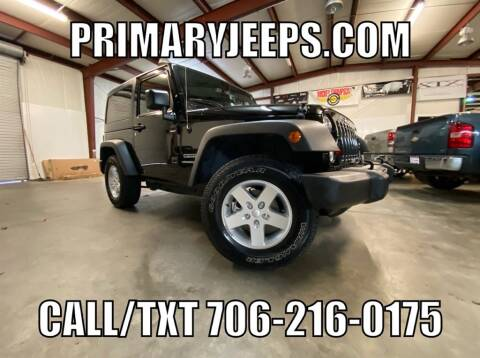 2016 Jeep Wrangler for sale at Primary Auto Group Jeeps Hummers Tacomas in Dawsonville GA