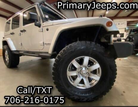2007 Jeep Wrangler Unlimited for sale at Primary Auto Group Jeeps Hummers Tacomas in Dawsonville GA