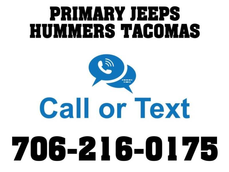 2005 Jeep Wrangler for sale at Primary Auto Group Jeeps Hummers Tacomas in Dawsonville GA