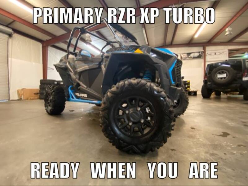 2019 Polaris RZR XP Turbo for sale at Primary Auto Group Jeeps Hummers Tacomas in Dawsonville GA