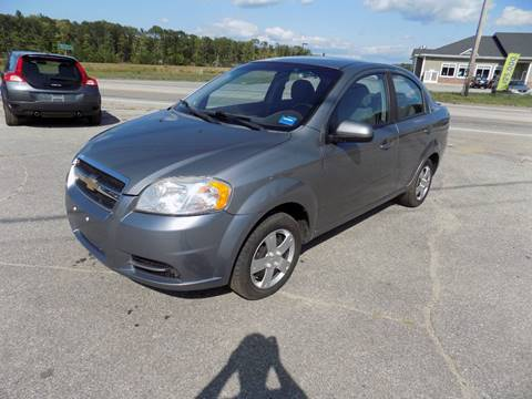 2011 Chevrolet Aveo for sale in Turner, ME