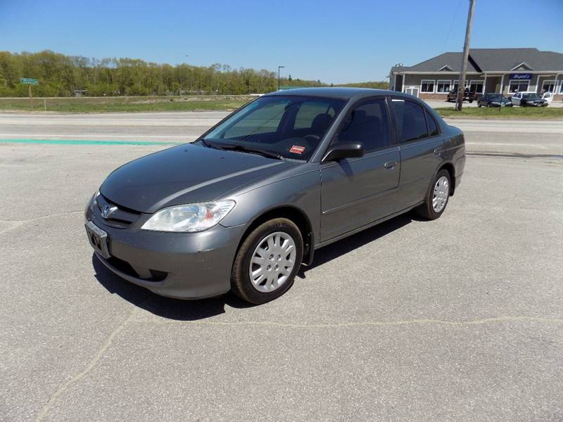 2004 Honda Civic LX 4dr Sedan   Turner ME