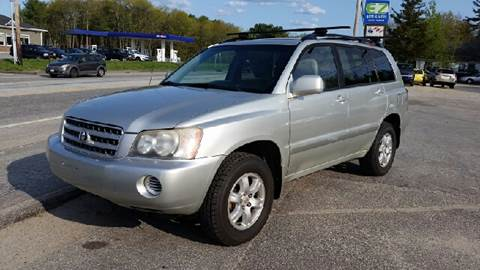 2003 Toyota Highlander for sale in Turner, ME