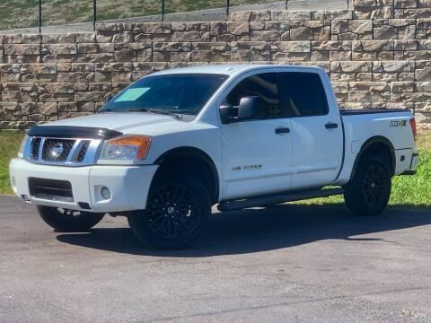 2013 Nissan Titan for sale at Car Hunters LLC in Mount Juliet TN