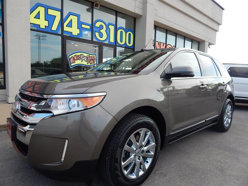 Ford Edge Limited Dr Crossover Kansas City Mo