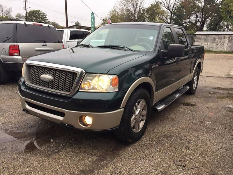 2008 Ford F 150 Fx4 In Houston Tx: 2008 Ford F-150 4x2 Lariat 4dr SuperCrew Styleside 5.5 Ft