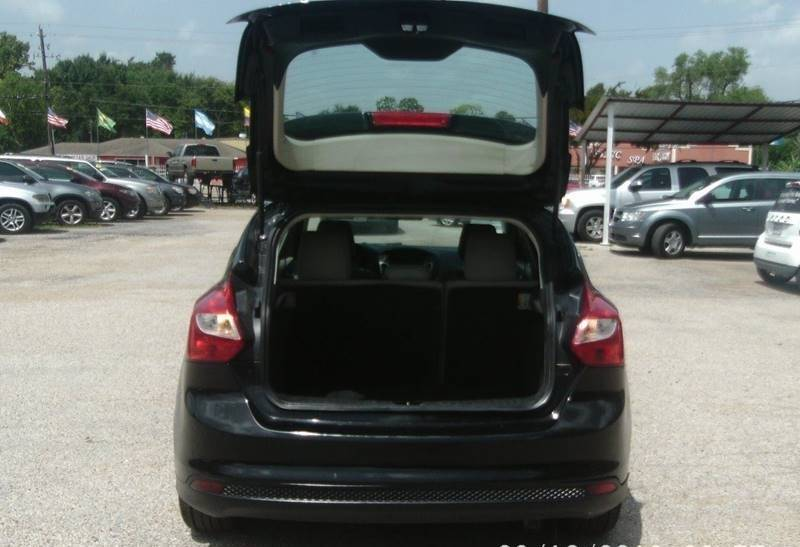 2012 Ford Focus Sel 4dr Hatchback In Houston Tx Auto