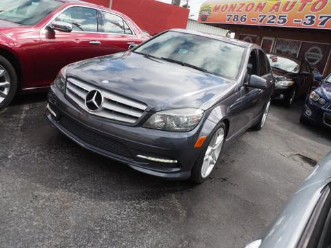 2011 Mercedes-Benz C-Class for sale in Hialeah, FL