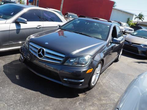 2013 Mercedes-Benz C-Class for sale in Hialeah, FL