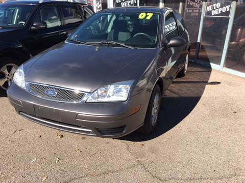 2007 Ford Focus for sale at Auto Depot in Albuquerque NM