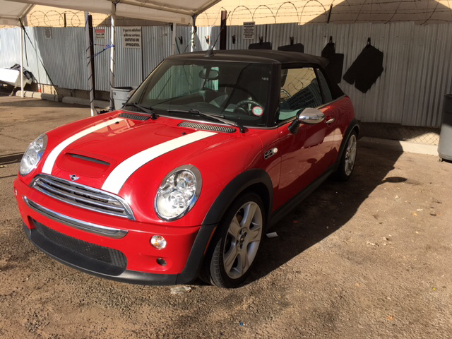 2005 mini cooper s 2dr supercharged convertible in albuquerque nm auto depot. Black Bedroom Furniture Sets. Home Design Ideas