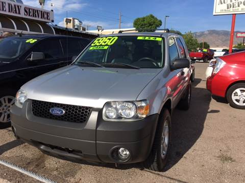 2005 Ford Escape for sale at Auto Depot in Albuquerque NM