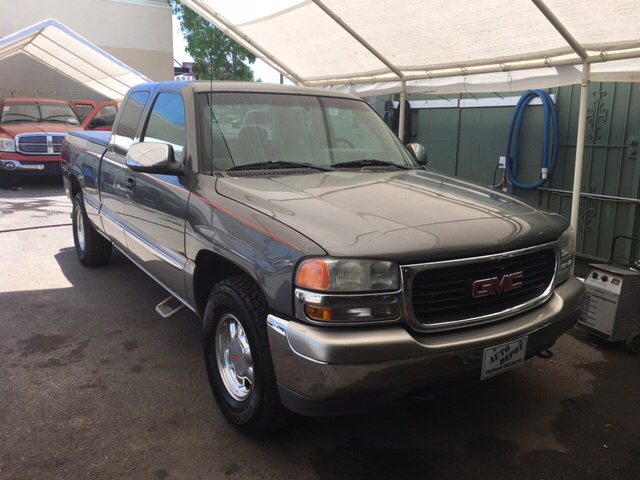 2001 Gmc Sierra 1500 Sle 4dr Extended Cab 4wd Lb In