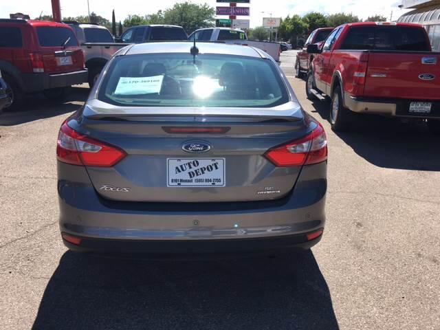 2013 Ford Focus SE 4dr Sedan - Albuquerque NM