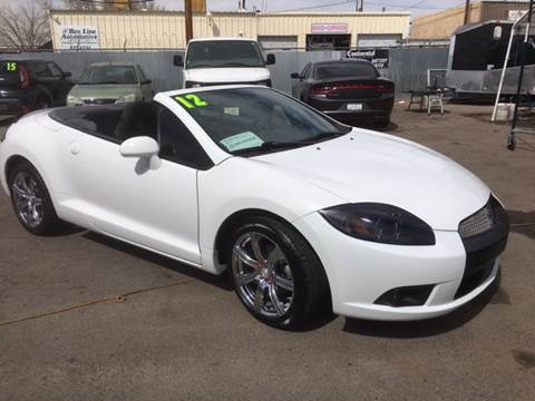 2012 Mitsubishi Eclipse Spyder For Sale In Albuquerque, NM
