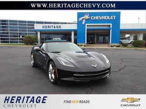 Used Corvettes For Sale In Michigan >> Used 2016 Chevrolet Corvette For Sale In Michigan