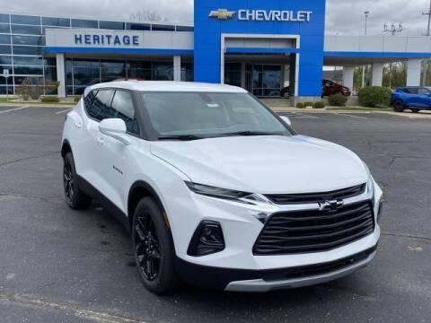 2020 Chevrolet Blazer for sale at HERITAGE CHEVROLET INC in Creek MI
