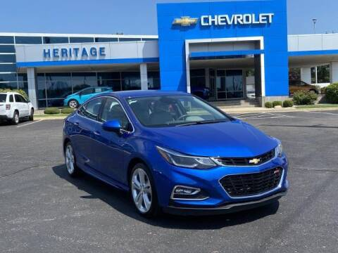 2016 Chevrolet Cruze for sale at HERITAGE CHEVROLET INC in Creek MI