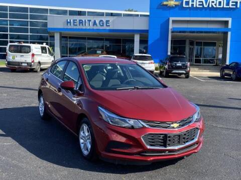 2018 Chevrolet Cruze for sale at HERITAGE CHEVROLET INC in Creek MI
