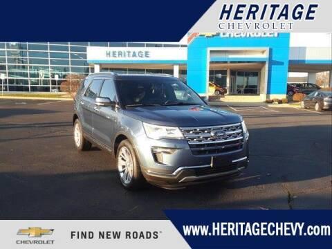 2019 Ford Explorer for sale at HERITAGE CHEVROLET INC in Creek MI