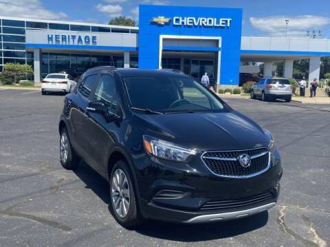 2017 Buick Encore for sale at HERITAGE CHEVROLET INC in Creek MI