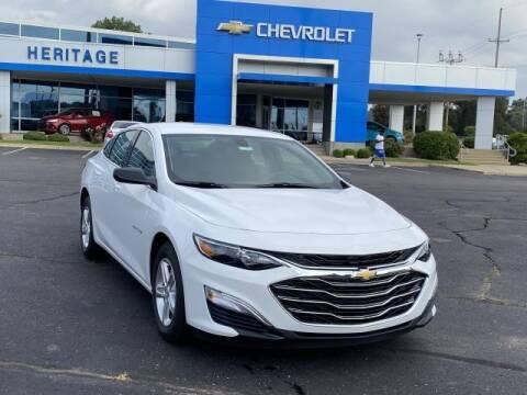 2020 Chevrolet Malibu for sale at HERITAGE CHEVROLET INC in Creek MI