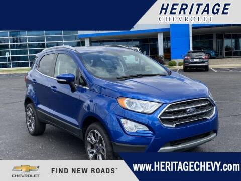 2019 Ford EcoSport for sale at HERITAGE CHEVROLET INC in Creek MI