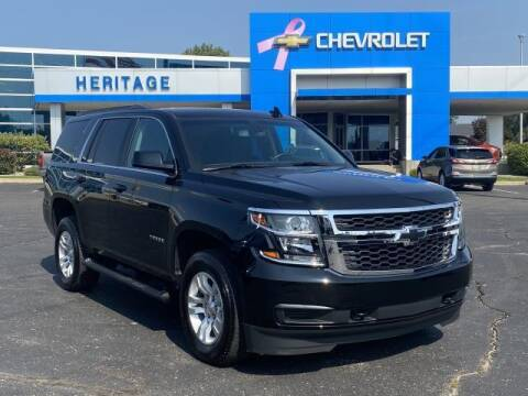 2019 Chevrolet Tahoe for sale at HERITAGE CHEVROLET INC in Creek MI