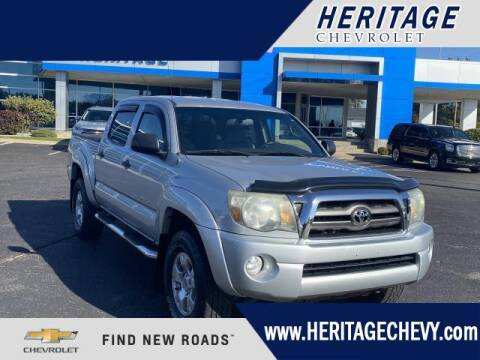 2009 Toyota Tacoma for sale at HERITAGE CHEVROLET INC in Creek MI