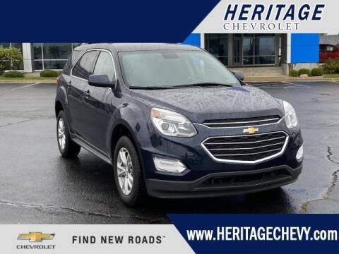 2017 Chevrolet Equinox for sale at HERITAGE CHEVROLET INC in Creek MI