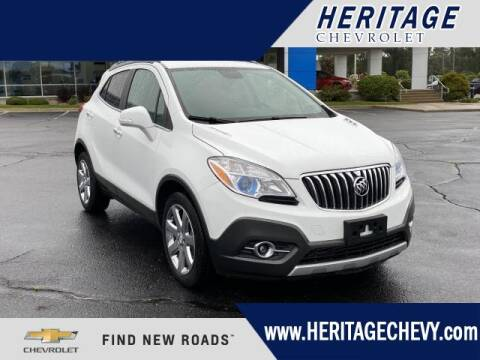 2016 Buick Encore for sale at HERITAGE CHEVROLET INC in Creek MI