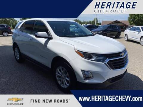 2020 Chevrolet Equinox for sale at HERITAGE CHEVROLET INC in Creek MI