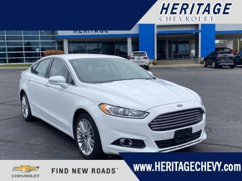 2016 Ford Fusion for sale at HERITAGE CHEVROLET INC in Creek MI