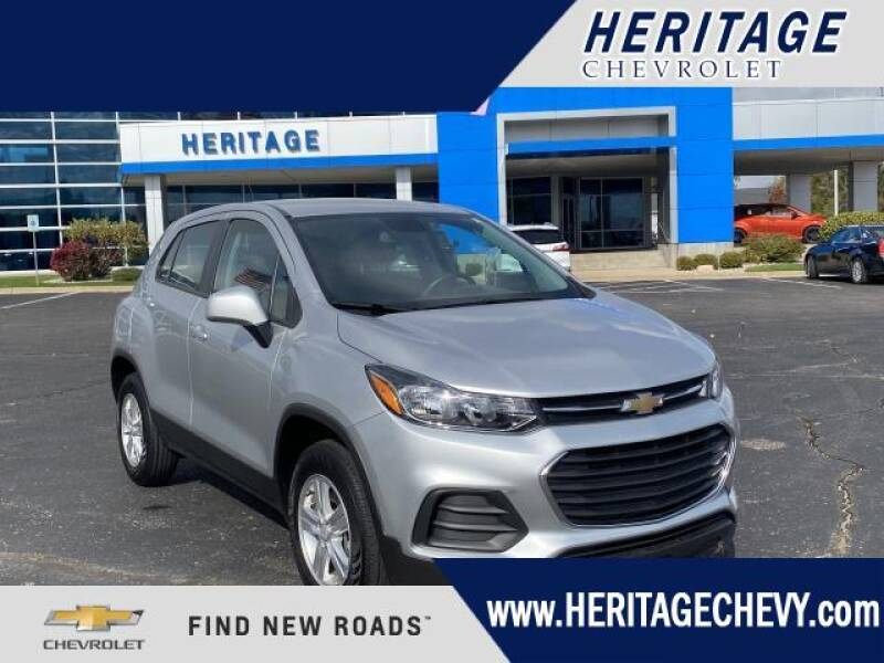 2017 Chevrolet Trax for sale at HERITAGE CHEVROLET INC in Creek MI