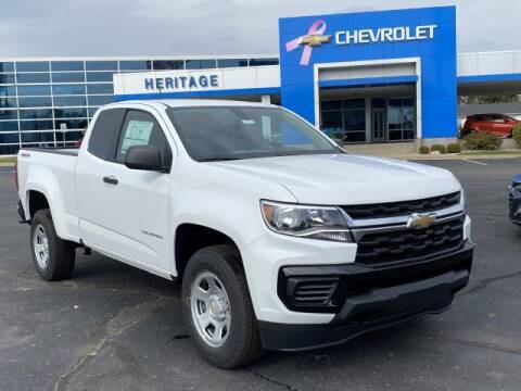 2021 Chevrolet Colorado for sale at HERITAGE CHEVROLET INC in Creek MI