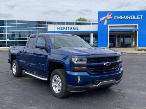 2017 Chevrolet Silverado 1500 for sale at HERITAGE CHEVROLET INC in Creek MI