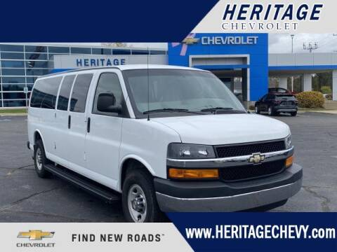 2007 Chevrolet Express Passenger for sale at HERITAGE CHEVROLET INC in Creek MI