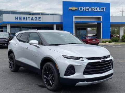 2020 Chevrolet Blazer for sale at HERITAGE CHEVROLET INC in Creek MI