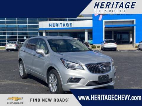 2017 Buick Envision for sale at HERITAGE CHEVROLET INC in Creek MI