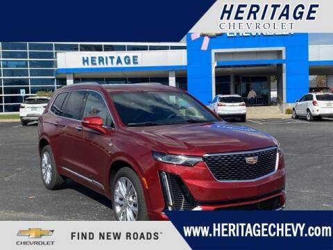 2020 Cadillac XT6 for sale at HERITAGE CHEVROLET INC in Creek MI
